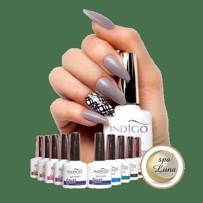 Indigo & Shellac lak za nohte - Kozmetični salon Spa Luna