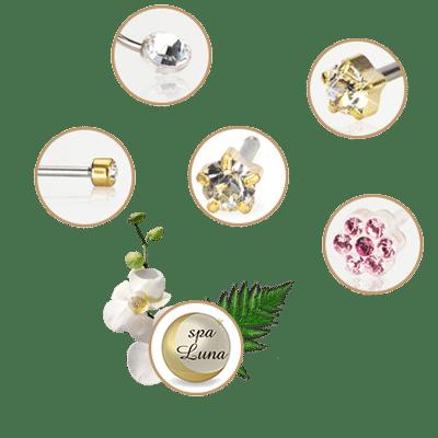 Medicinski piercing kozmetični salon Spa Luna
