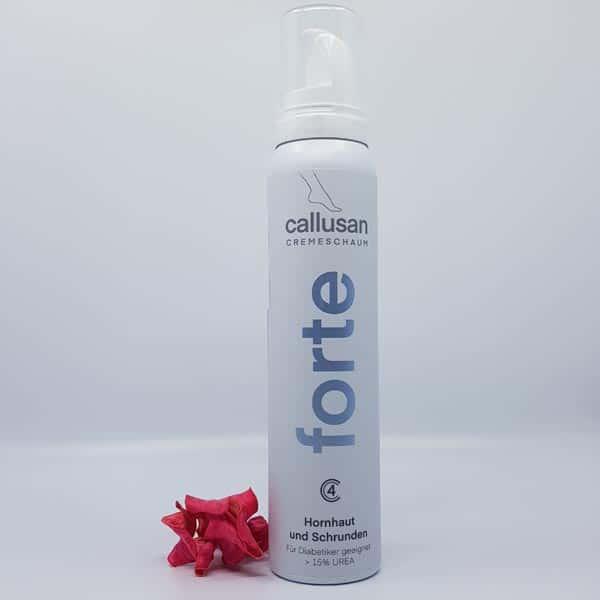 Kremna pena za noge za intenzivno nego ekstremno suhe kože Callusan Forte